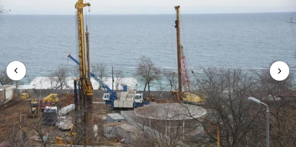 Одесский суд приостановил строительство ЖК на склоне 13-й станции Фонтана
